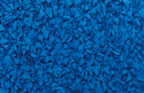 Blue poured in place surfacing color option