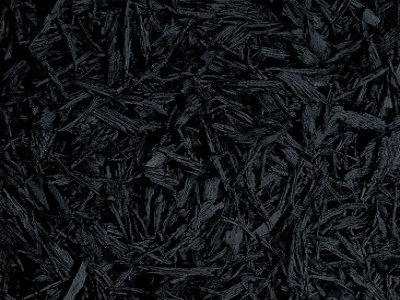 black Bonded Rubber Mulch Color Option