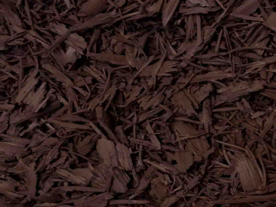 Brown Bonded Rubber Mulch Color Option