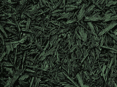 Green Bonded Rubber Mulch Color Option