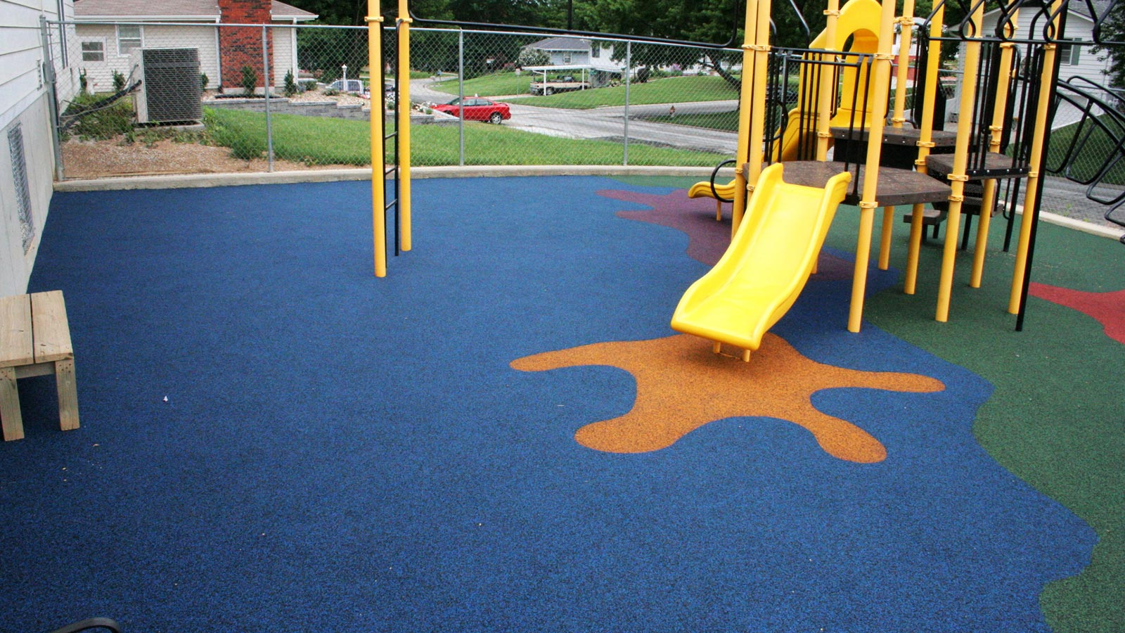 Ecoturf Surfacing Taylormade Co products Playground Turf Maintenance