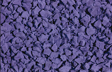 Purple poured in place surfacing color option