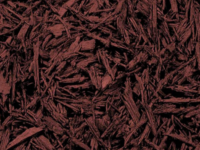 Red Bonded Rubber Mulch Color Option