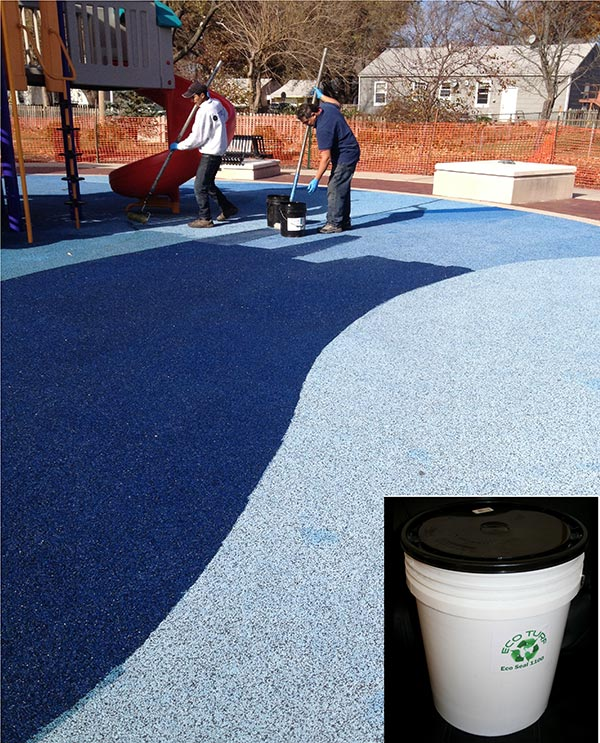 Synthetic Turf Maintenance Products reseal ecoseal bucket